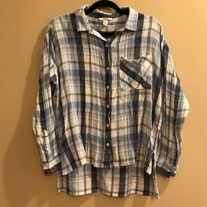 Forever 21 Plaid Button Down Shirt